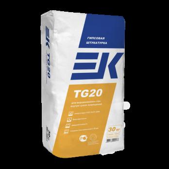 ЕК TG 20 Штукатурная смесь гипсовая (30кг.)