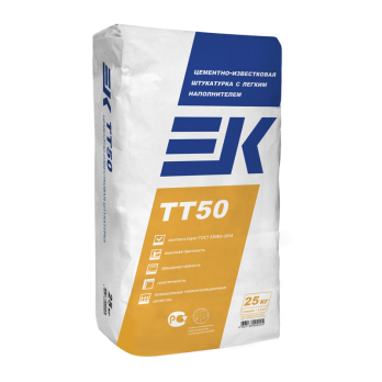 ЕК TT 50 Штукатурная смесь цементная (25кг.)